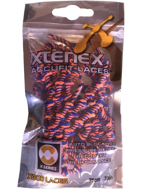 XTENEX Sport Laces 75cm royal/orange